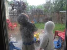 Rainy idaho.