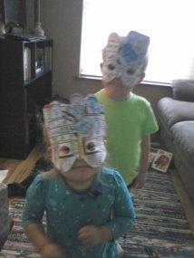 Mask fun.